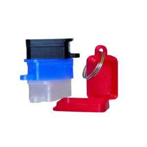 Pilulier porte clé de poche Aquaromat
