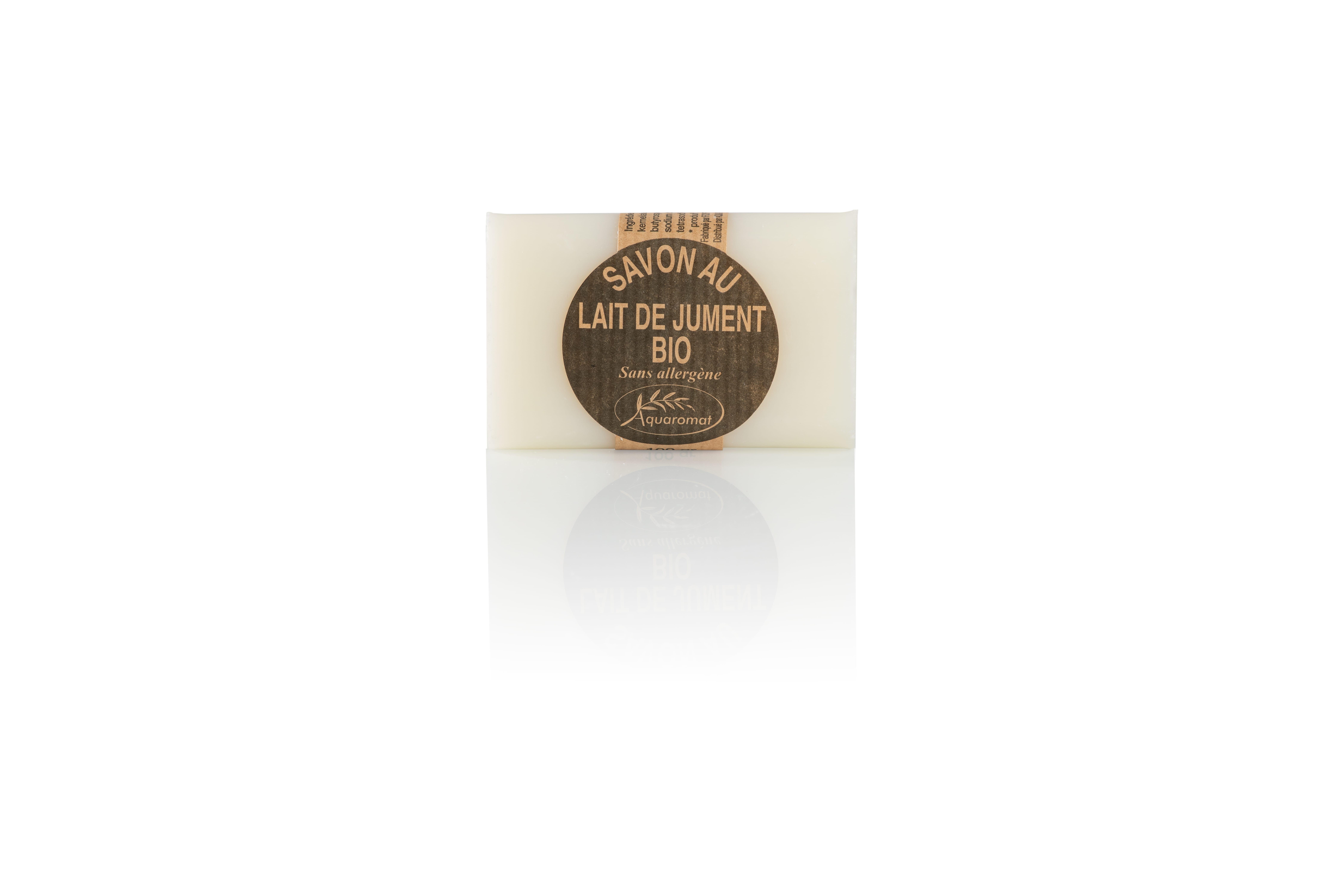 aquaromat-savon-lait-jument-bio-artisanal-100-g