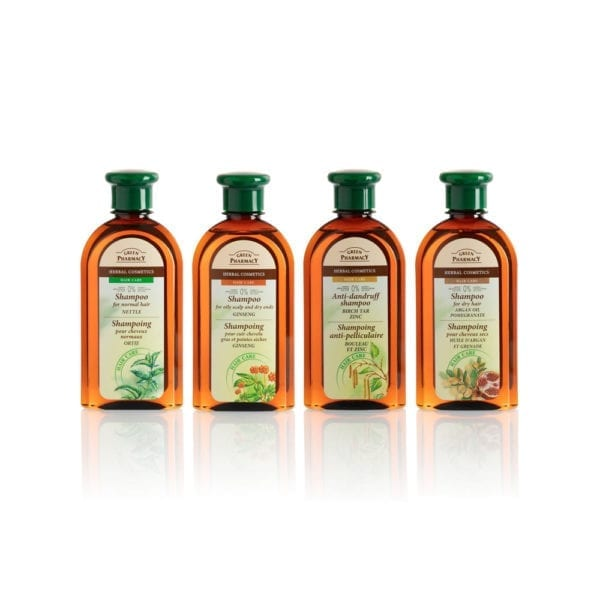 Shampoing Green Pharmacy gamme complète