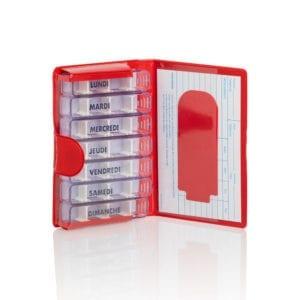 medidose-pilulier-hebdomadaire-rouge